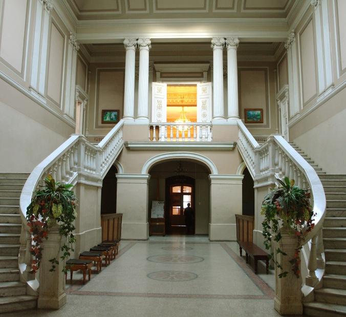 Odesa Lit Mus Hallway