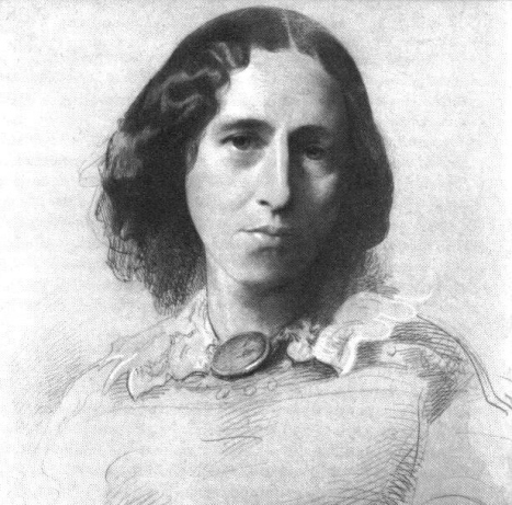 George_Eliot_by_Samuel_Laurence c. 1860