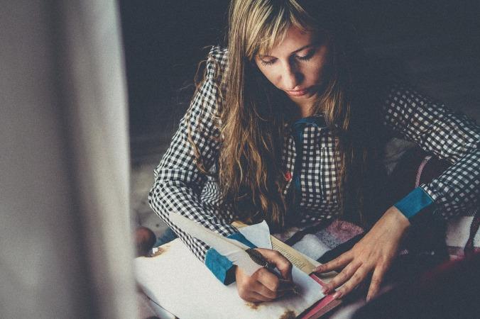 writing by Image by Viktoria Borodinova