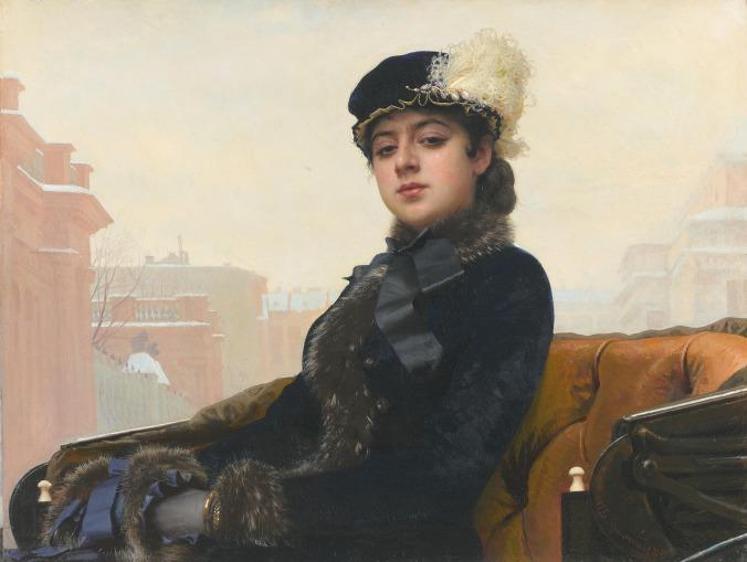 Ivan Kramskoy_Portrait_of_an Unknown_Woman